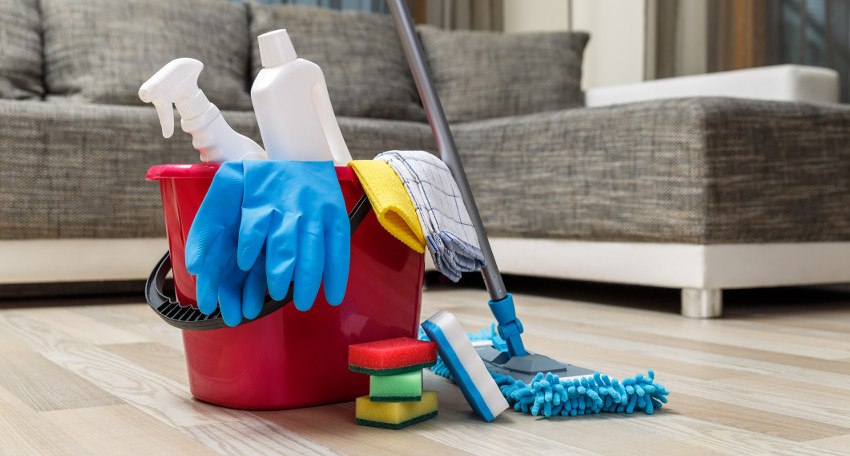 Easy Apartment Cleaning Schedule