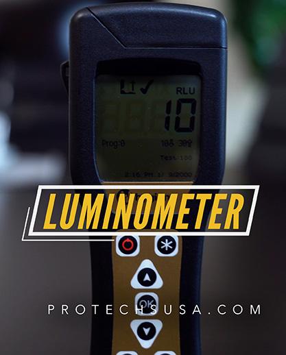 Luminometer Techs ATP Testing Graphic - Protechsusa.com