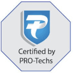 Certified by PRO-Techs badge
